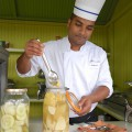 Pickels d'ananas - Ananas au vinaigre - Ravenala - Île Maurice