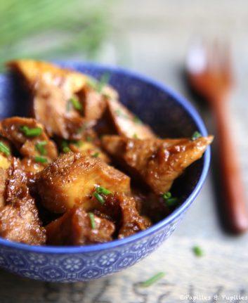 Poulet sauce Teriyaki gingembre et miel