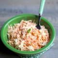 Salade de chou carottes et menthe