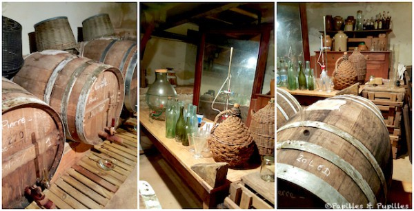 Stockage du vinaigre