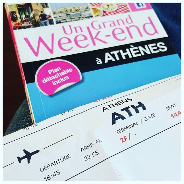 En route pour Athènes