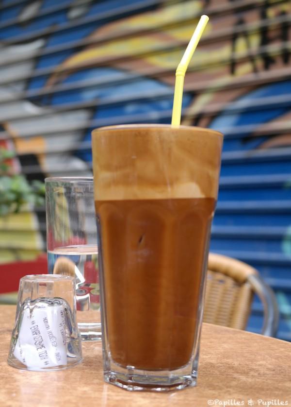 Café frappé - Athènes