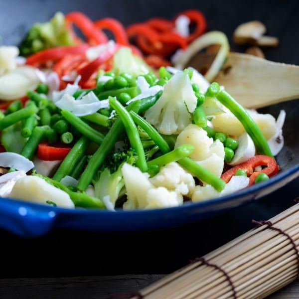 Cuisine au wok (c) kitty shutterstock
