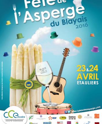 Fête de l'asperge du Blayais 2016