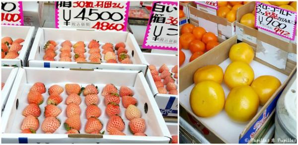 Fraises et agrumes - Tokyo
