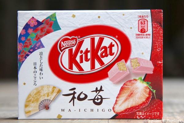 KitKat à la fraise