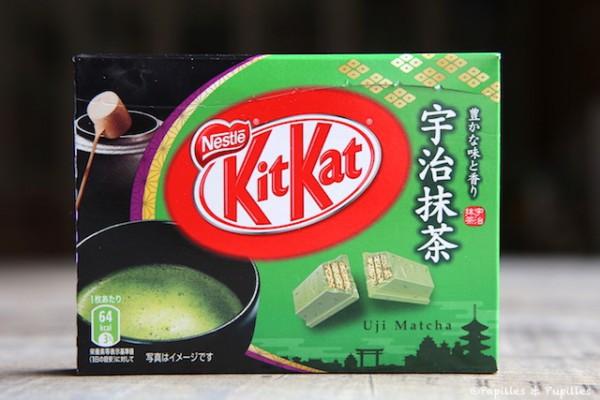 KitKat au thé matcha