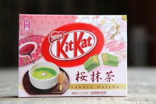 KitKat cerises Thé matcha