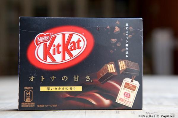 KitKat au chocolat noir