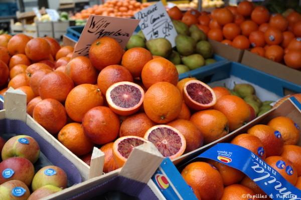 Oranges - Marché aux oiseaux