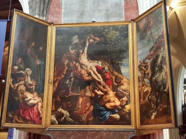 L'élévation de la croix - Rubens