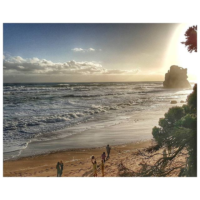 Sunset - On the beach