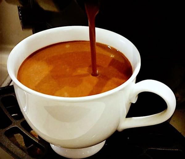 Chocolat chaud Ganache Melbourne