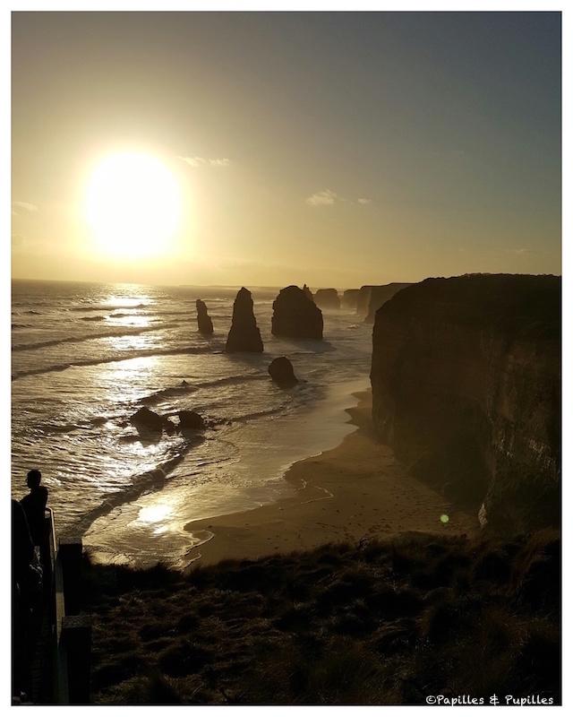 Coucher de soleil - Les 12 apôtres