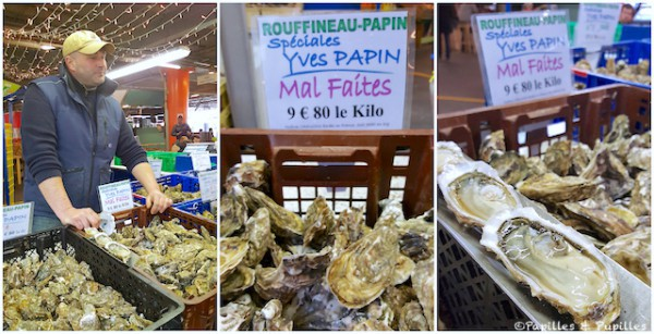 Huîtres mal faites Capucins