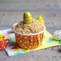 Muffins au chocolat et à la noix de coco