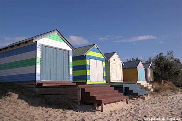 Beach boxes - Mornington Peninsula