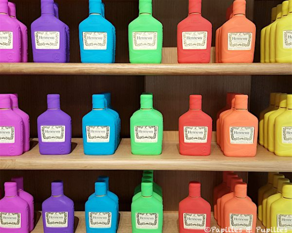 Les flacons colorés
