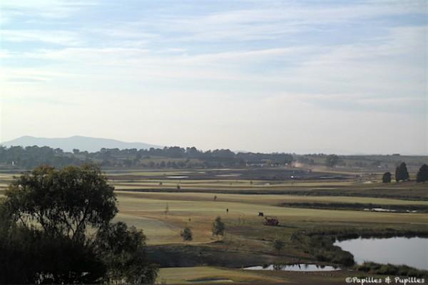 Lever de soleil - Yarra Valley