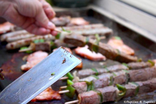 Viande à la plancha