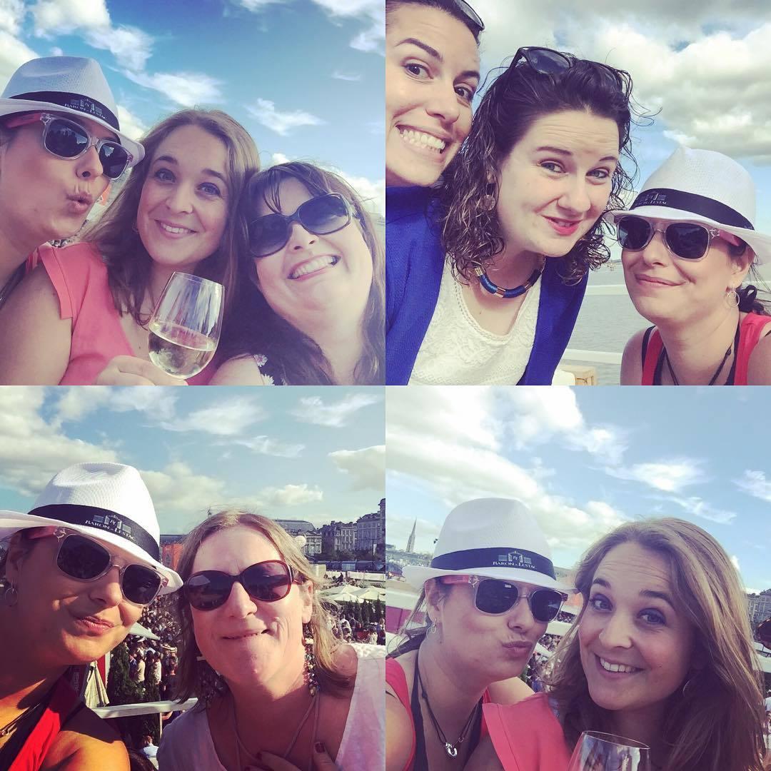 Avec les copines - Bordeaux fête le vin 2016