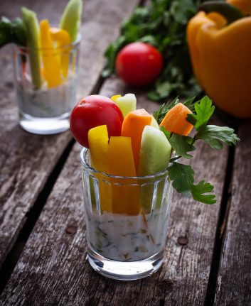 Bâtonnets de légumes pour trempette (c) Yulia Furman shutterstock