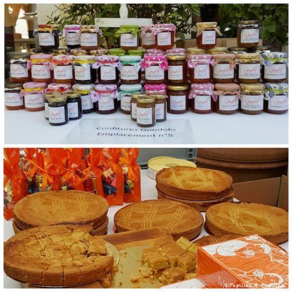 Confitures de chez Gondolo et gâteaux basques de chez Pariès