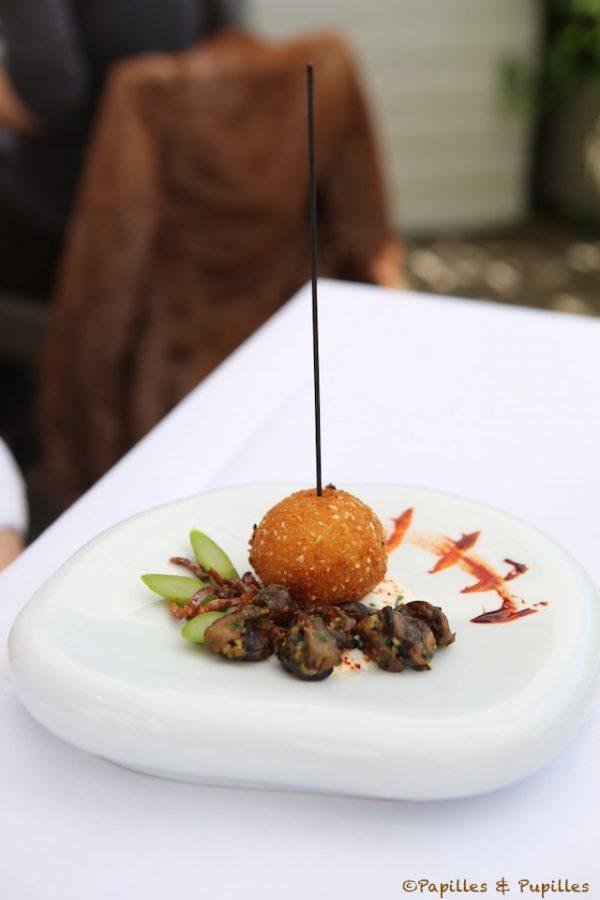 Escargots à la bordelaise revisités – Mozzarella