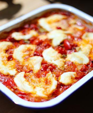 Gratin de légumes d'été à la mozzarella