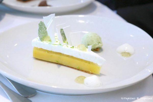 La meilleure tarte au citron du monde et son sorbet mojito (carte)