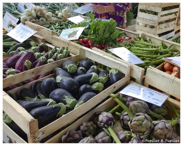 Légumes de chez Uniterre