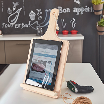 Tuto cr er un support pour tablette for Conception cuisine pour tablette