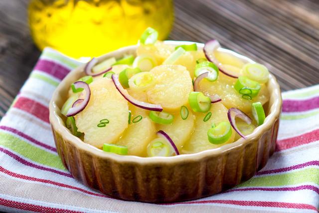 Pommes de terre en salade