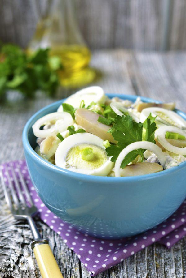 Salade de pommes de terre (c) Liliya Kandrashevich shutterstock