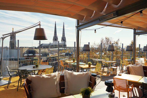 Restaurant Mercure Terrasse Bordeaux  Quais Des Chartrons