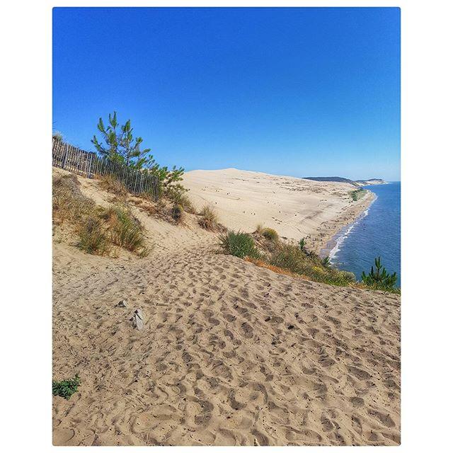 Dune du Pyla - la vue magnifique depuis la Co(o)rniche