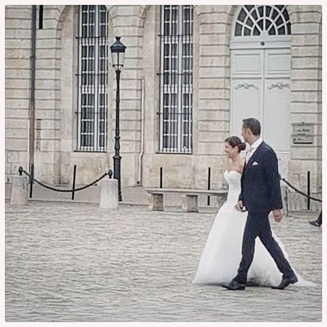 Amoureux anonymes - place de la Bourse - Bordeaux