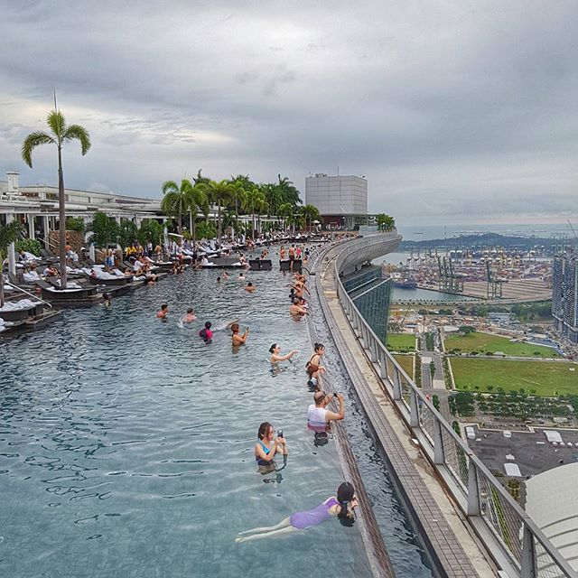 L 39 incroyable piscine du marina bay sands singapour - Marina bay sands piscina ...