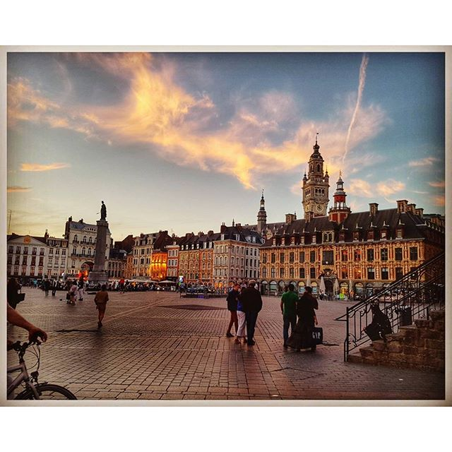 Sunset - Grand Place - Lille