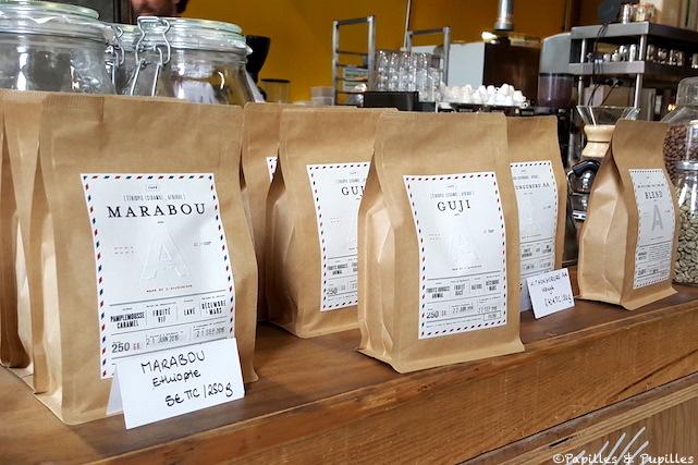 Différents cafés