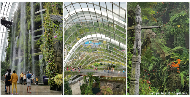 Gardens by the bay - biodomes
