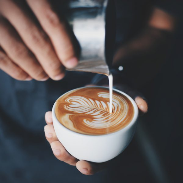 Latte art (c) Coffee Lover shutterstock
