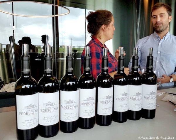 Même vin - différentes chauffes, plusieurs tonneliers.