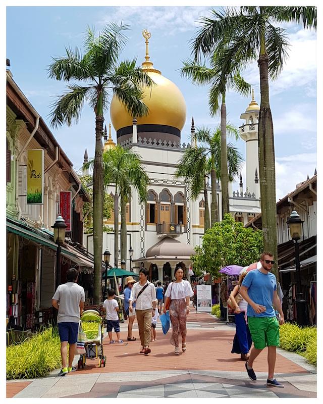Mosquée du Sultan - Singapour