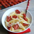 Pâtes aux tomates confites et au Parmesan