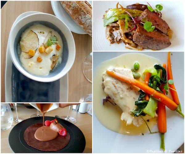 Plats restaurant le 7 - Cité du vin