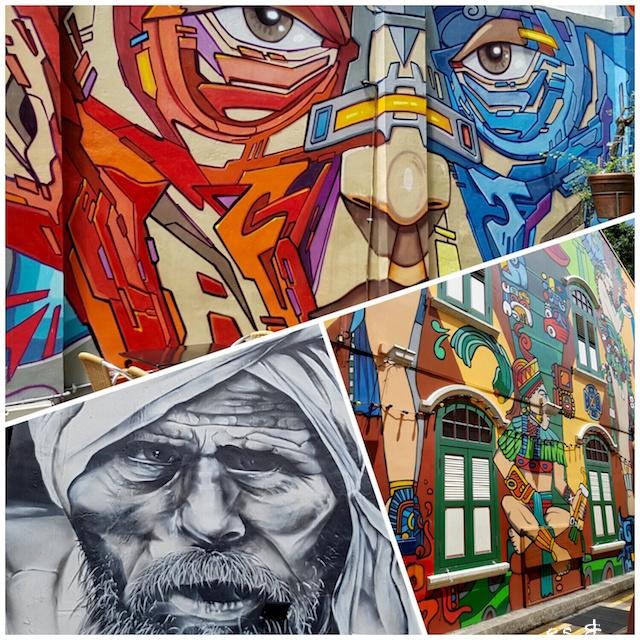 Street Art - Haji Lane - Singapour