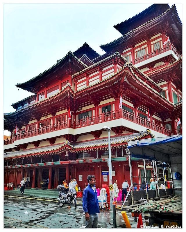 Temple - quartier chinois