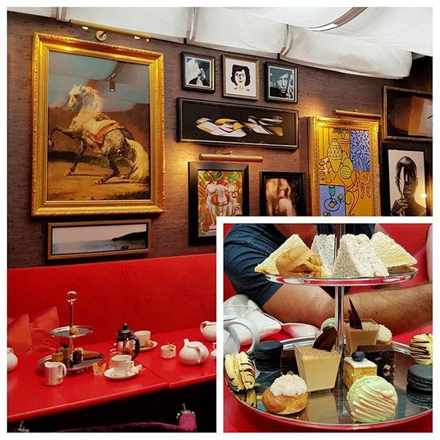 Tea time (high tea) - Hôtel Vagabond - Singapour