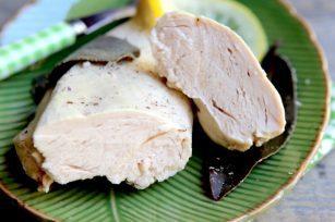Blanc de poulet poché